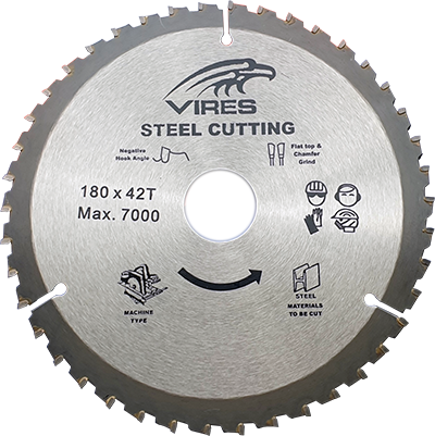 Vires TCT Blade 165mm T40 20mm bore