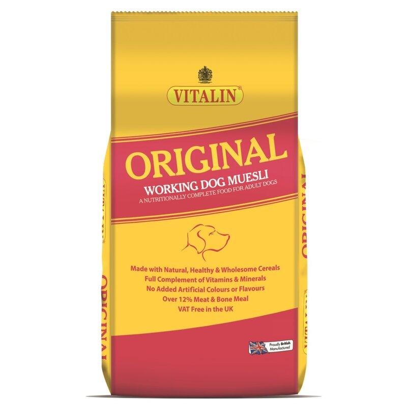 Vitalin Original Working Dog Food 2.5kg