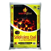 WARMGLOW SMOKELESS COAL 20KG