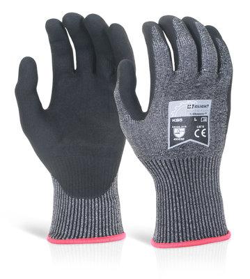 Click KS5 Kutstop PU Coated Glove Cut D