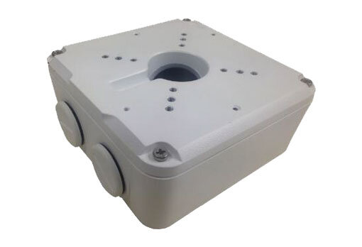 Uniview 126 x 125 x 55mm Square Junction Box