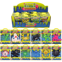 Sticky Creatures. (Sold in displays of 48, min order 1 display)