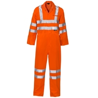 Supertouch Hi-Visibility Coverall, Orange