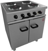Oven Range 4 Hotplate 700x650 10.7kw 1/3ph E350/30
