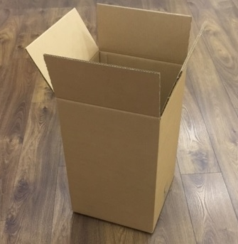 Double Wall Box: 350 X 350 X 550mm. (Pack Of 10)