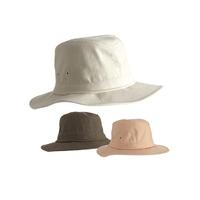Mens Fedora Hat Cotton Asstd Cols 57-60cm