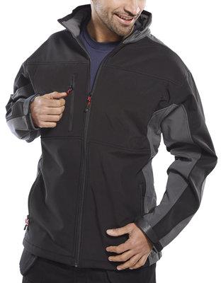 Click Two Tone Softshell Breathable Jacket