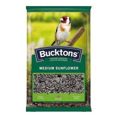 Bucktons Medium Striped Sunflower Seeds 12.75kg