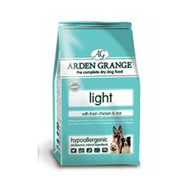 Arden Grange Chicken & Rice Light Dog Food 12kg