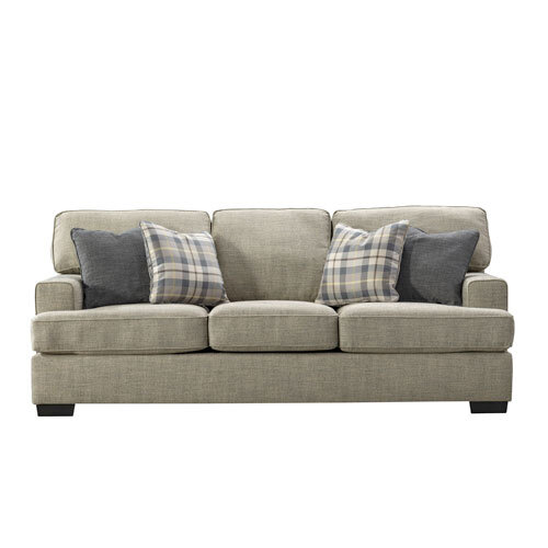 Tides Fabric 3 Seater Sofa Front