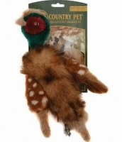 Country Pet Dog Toy - Pheasant Small x 1