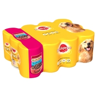 Pedigree Cans Adult in Loaf - Mixed 400g 12pk x 2