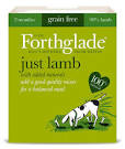Forthglade Adult Dog Tray Just Lamb 395g x 18