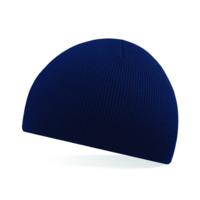 BC044 Acrylic Beanie Hat Navy