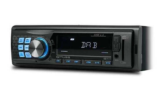 Muse Car Radio With DAB+/FM Bluetooth & Usb/Sd radio