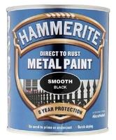 HAMMERITE SMOOTH BLACK 5 LTR