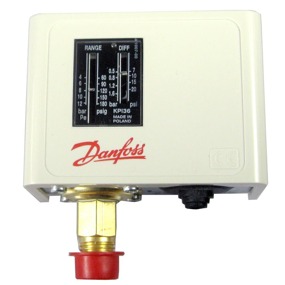 060-121766 Danfoss KPI35 Pressure Switch Setting range: -0.2 to 8