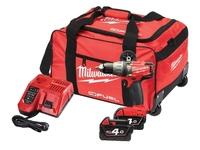 Milwaukee M18FPD-402B 18v Fuel Percussion Drill C/W 2 x 4.0Ah Li-Ion Batteries