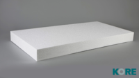 KORE FLOOR EPS 70 INS WHITE 130MM - 1200MM X 1800MM SHEET (4 PER PACK)