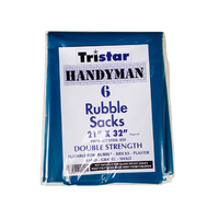 Tristar Blue Builders Bag 6 pk - BS6 (BB7R)