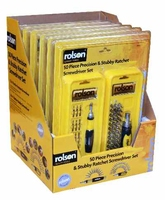Rolsen 50 Piece Precision Screwdriver Set