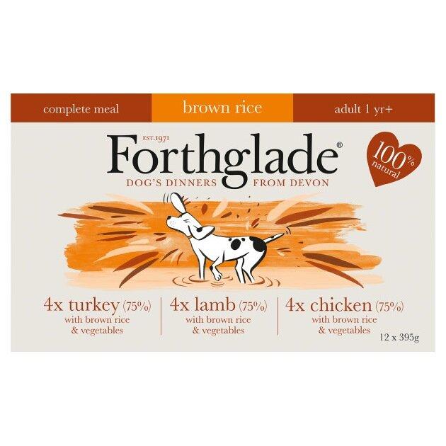 Forthglade Complete Dog Food Multicase 12 x 395g