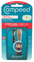 Compeed High Impact Sports Heel Blister Plasters 5s