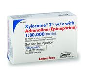 DENTSPLY - XYLOCAINE 2% WITH ADRENALINE 1:80,000