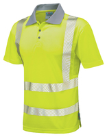 Leo WOOLACOMBE ISO 20471 Cl 2 Coolviz Plus Polo Shirt