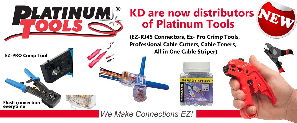 Platinum Tools & EZ Connectors