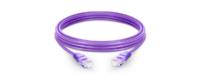 UTP CAT 5E  LSZH CABLE PURPLE