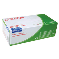 Med Latex Glove Box 100 Powder Free - 50000051 (WT1027/2)
