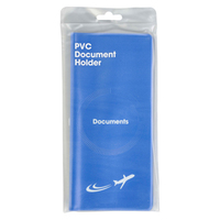 Korbond Travel PVC Document Holder