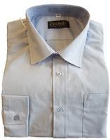 Blue Long-Sleeved Shirt