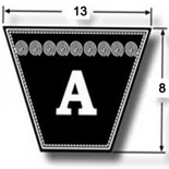 V Belt Classic A Section