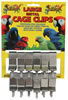 Lazy Bones Metal Cage Clips - Large x 12