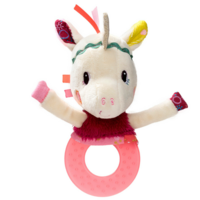 Louise the Unicorn Teething Rattle