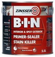 Zinsser B-I-N Primer Sealer 2.5L
