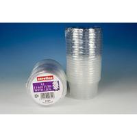 Caroline Round Plastic Tub with Lid 12 Pk 114ml
