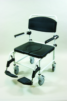 Mediatric Attendant Shower Chair/Commode