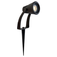 Ansell Flora 5W GU10 LED Garden Spike Black