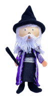 Wizard Gold Range Wooden Head Finger Puppet. (Priced in singles, order in multiples of 6)