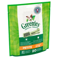 Greenies Original Dental Treats - Petite 340g x 1