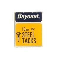 """BAYONET DISPLAY BOX BLUED CUT TACK 13 MM 1/2"""""""