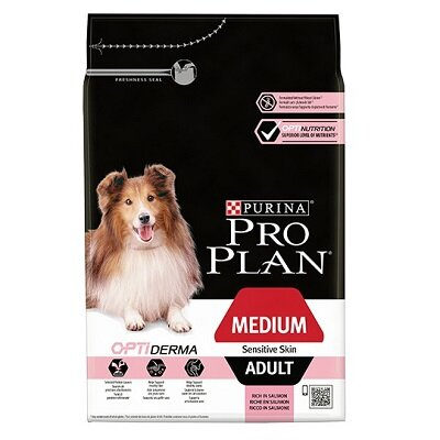Pro Plan Medium Adult Sensitive Skin Dog Food 14kg