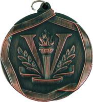 60mm Victory Medallion (Antique Bronze)