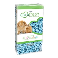 Carefresh Small Animal Bedding - Colours Blue 10 litre x 4