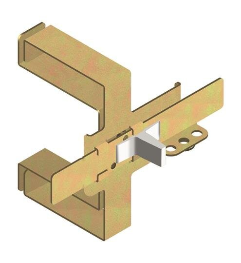 1SDA051396R1 ABB SACE Tmax MIF Mech interlock between 2 MCCBs