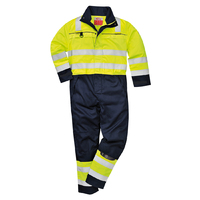 Portwest Multi-Norm Coverall Hi-Vis Yellow/Navy
