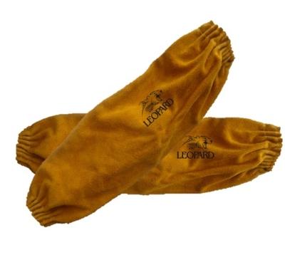 "Premium Gold Leather Protective Sleeve - 18"""